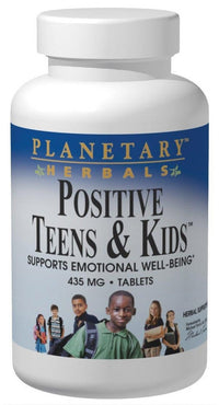 Buy PLANETARY HERBALS, Positive Teens & Kids™, 120 Tablets at Herbal Bless Supplement Store