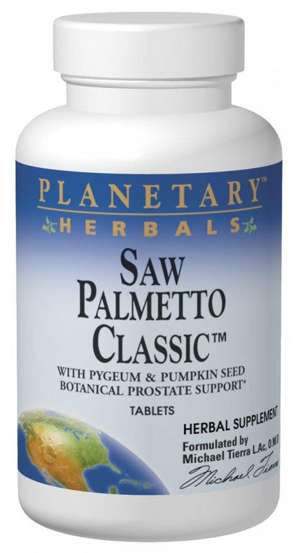 Buy PLANETARY HERBALS, Saw Palmetto Classic™, 42 Tablets at Herbal Bless Supplement Store