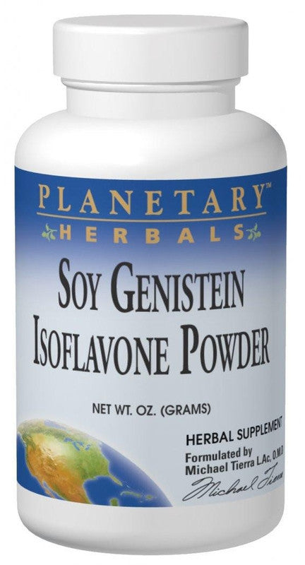 Buy PLANETARY HERBALS, Soy Genistein Isoflavone Powder, 2 oz at Herbal Bless Supplement Store