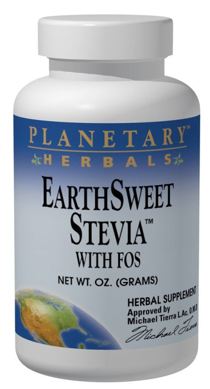 Buy PLANETARY HERBALS, Stevia with FOS, 4 oz at Herbal Bless Supplement Store