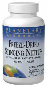 Buy PLANETARY HERBALS, Stinging Nettles, Freeze-Dried 420mg, 120 tablet at Herbal Bless Supplement Store