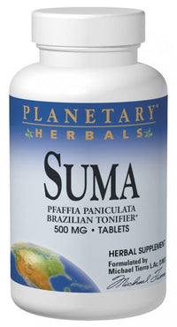Buy PLANETARY HERBALS, Suma 500mg, 25 Tablets at Herbal Bless Supplement Store