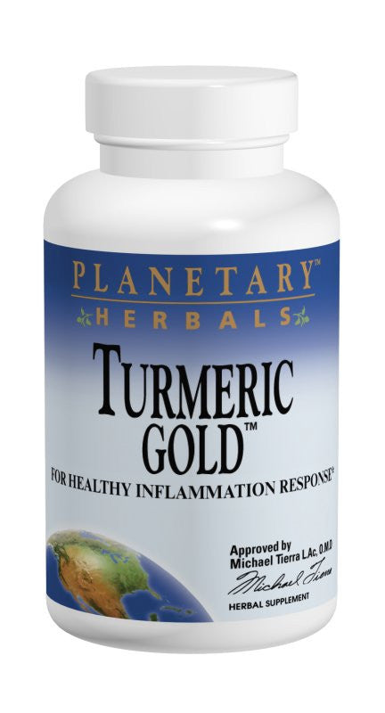 Buy PLANETARY HERBALS, Turmeric Gold™ 500mg, 60 capsule at Herbal Bless Supplement Store