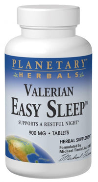 Buy PLANETARY HERBALS, Valerian Easy Sleep™, 60 tablet at Herbal Bless Supplement Store