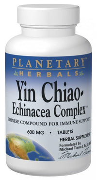 Buy PLANETARY HERBALS, Yin Chiao-Echinacea Complex™, 120 tablet at Herbal Bless Supplement Store