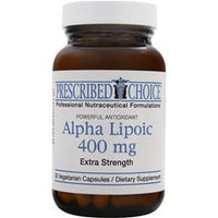 Buy Prescribed Choice, Alpha Lipoic (400mg) 30 vcaps at Herbal Bless Supplement Store