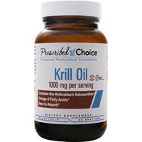 Buy Prescribed Choice, Krill Oil, 60 sgels at Herbal Bless Supplement Store