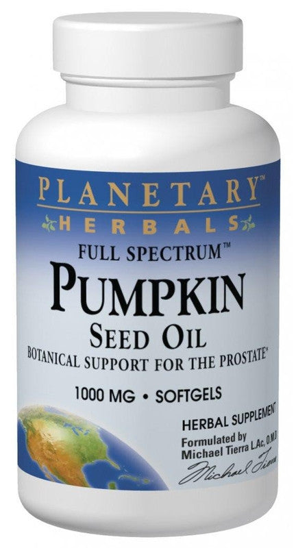 Buy Pumpkin Seed Oil 1000mg Full Spectrum™, 45 softgel at Herbal Bless Supplement Store