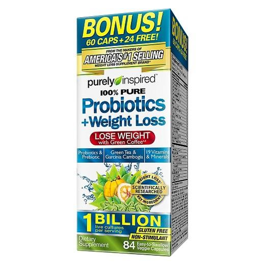 Buy Purely Inspired, Probiotics + Weight Loss Green Coffee Capsules - 84ct at Herbal Bless Supplement Store