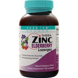 Buy Quantum, Thera Zinc - Elderberry Lozenges, Raspberry 60 lzngs at Herbal Bless Supplement Store