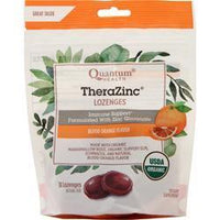 Buy Quantum, Thera Zinc Lozenges - Immune Support, Blood Orange Flavor 18 lzngs at Herbal Bless Supplement Store