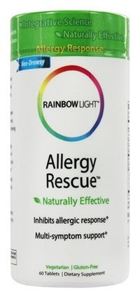 Buy Rainbow Light, Allergy Rescue, 60 tablet at Herbal Bless Supplement Store