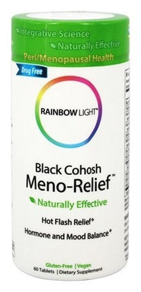 Buy Rainbow Light, Black Cohosh Meno-Relief, 60 tablet at Herbal Bless Supplement Store