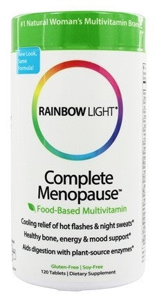 Buy Rainbow Light, Complete Menopause Multivitamin, 120 tablet at Herbal Bless Supplement Store