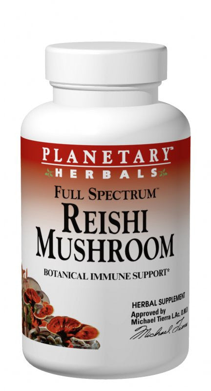 Buy Reishi Mushroom 460mg - Fruiting Body & Mycelium, 50 tablet at Herbal Bless Supplement Store
