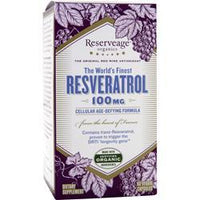 Buy Reserveage Organics, Resveratrol (100mg), 60 vcaps at Herbal Bless Supplement Store