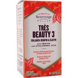 Buy Reserveage Organics, Tres Beauty 3, 90 caps at Herbal Bless Supplement Store