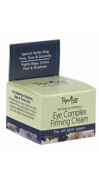 Buy Reviva Labs, Eye Complex Firming Cream, 0.75 oz at Herbal Bless Supplement Store