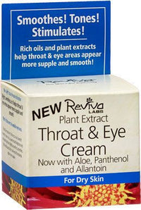 Buy Reviva Labs, Throat & Eye Cream, 1.5 oz at Herbal Bless Supplement Store