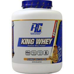 Buy Ronnie Coleman, King Whey, Peanut Butter Pie 5 lbs at Herbal Bless Supplement Store