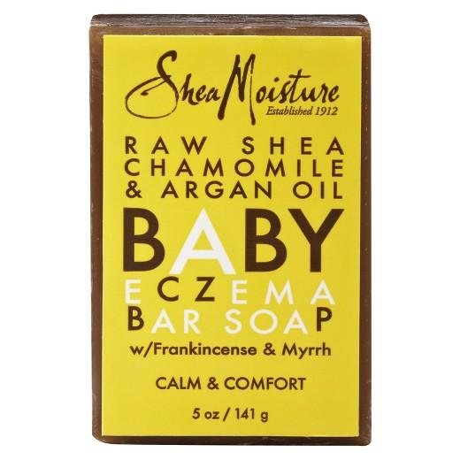 Buy SheaMoisture, Raw Shea Chamomile & Argan Oil Baby Eczema Bar Soap - 5 oz at Herbal Bless Supplement Store