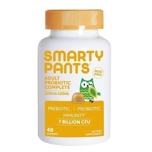Buy SmartyPants® Adult Probiotic Gummies Lemon Crème - 40ct at Herbal Bless Supplement Store