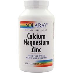 Buy Solaray, Calcium Magnesium Zinc,250 vacps at Herbal Bless Supplement Store