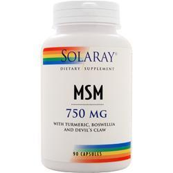 Buy Solaray, MSM (750mg), 90 caps at Herbal Bless Supplement Store