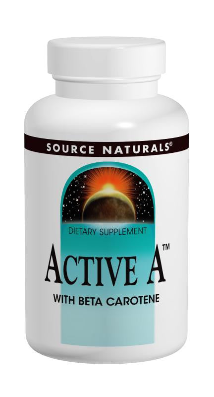 Buy Source Naturals, Active A™ with Beta Carotene 25,000 IU, 60 tablet at Herbal Bless Supplement Store
