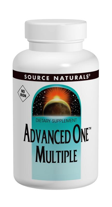 Buy Source Naturals, Advanced One™ Multiple Without-Iron, 30 tablet at Herbal Bless Supplement Store
