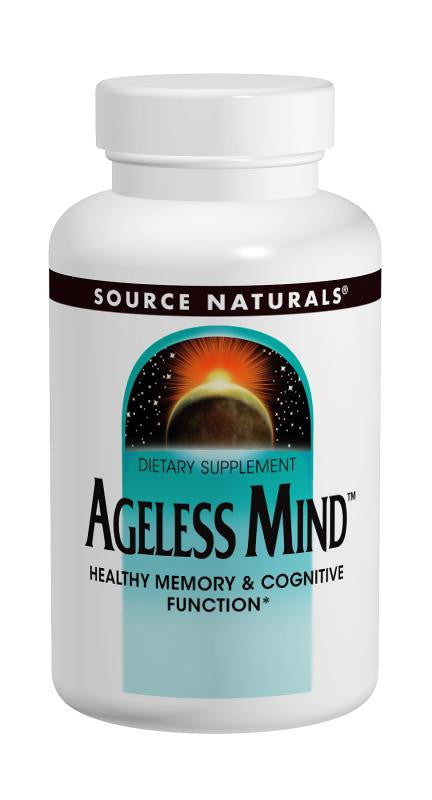 Buy Source Naturals, Ageless Mind™, 30 tablet at Herbal Bless Supplement Store