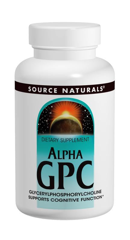Buy Source Naturals, Alpha GPC, 30 capsule at Herbal Bless Supplement Store