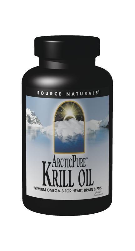 Buy Source Naturals, ArcticPure® Krill Oil, 30 Softgels at Herbal Bless Supplement Store