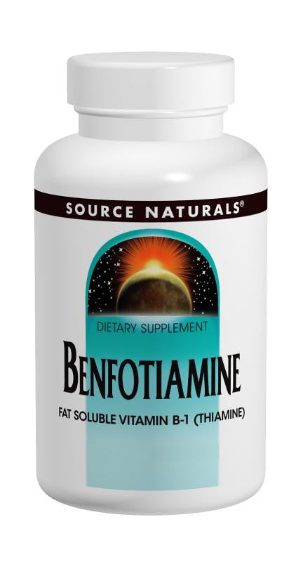 Buy Source Naturals, Benfotiamine 150mg, 30 tablet at Herbal Bless Supplement Store