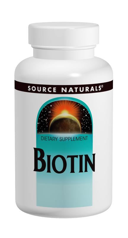 Buy Source Naturals, Biotin 600mcg, 100 tablet at Herbal Bless Supplement Store