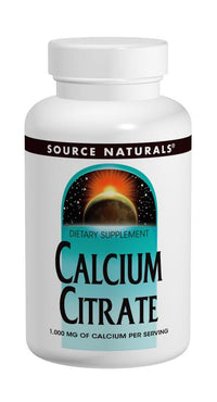 Buy Source Naturals, Calcium Citrate 333mg, 90 tablet at Herbal Bless Supplement Store