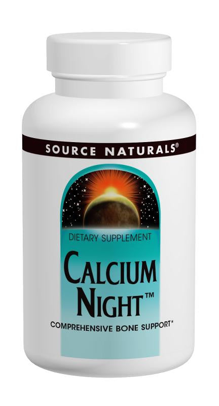 Buy Source Naturals, Calcium Night™, 60 tablet at Herbal Bless Supplement Store