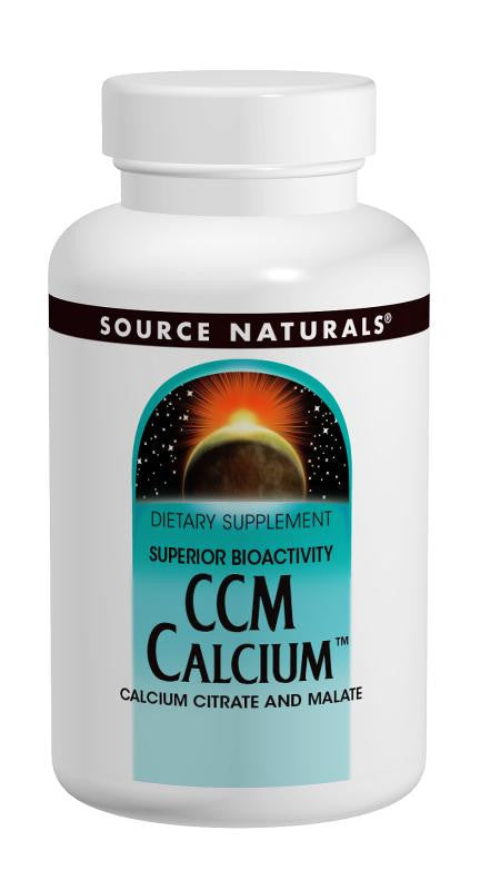 Buy Source Naturals, CCM Calcium™ Calcium Citrate / Malate 300mg, 60 tablet at Herbal Bless Supplement Store
