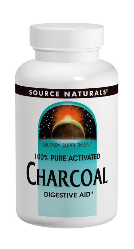 Buy Source Naturals, Charcoal 260mg, 100 capsule at Herbal Bless Supplement Store