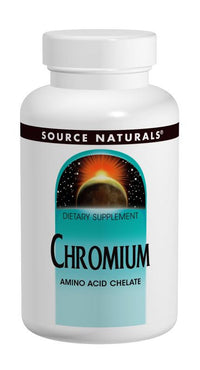 Buy Source Naturals, Chromium Chelate 200mcg elemental, 100 tablet at Herbal Bless Supplement Store
