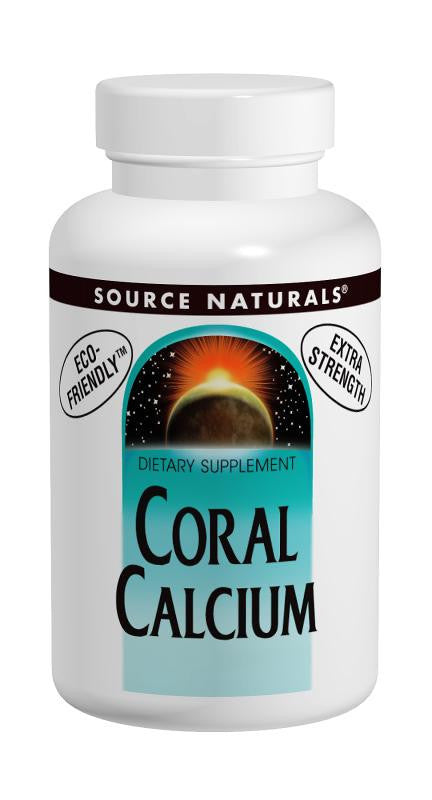 Buy Source Naturals, Coral Calcium 600mg, 60 capsule at Herbal Bless Supplement Store