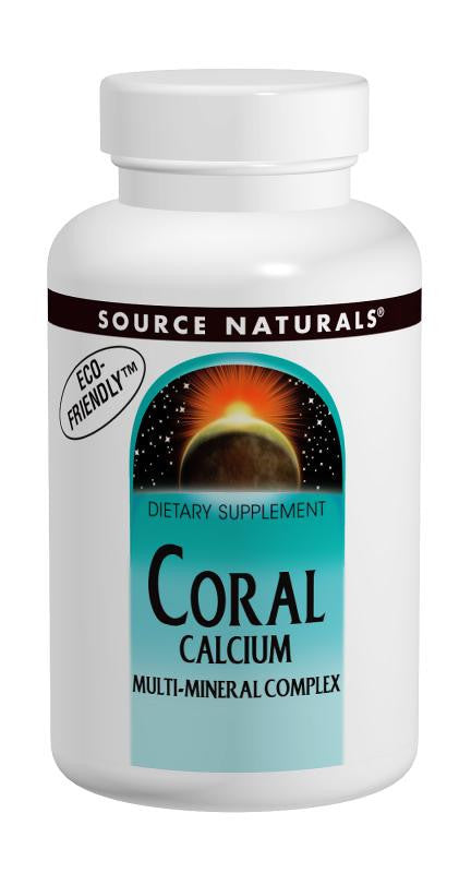 Buy Source Naturals, Coral Calcium Multi-Mineral, 60 tablet at Herbal Bless Supplement Store