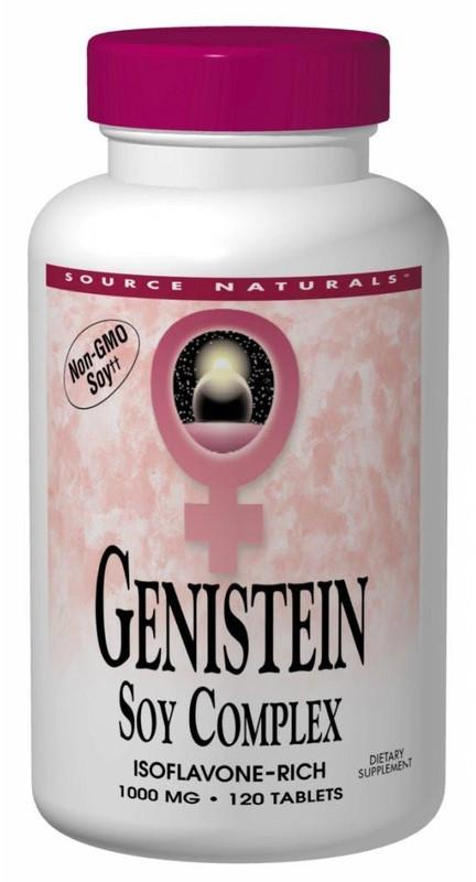 Buy Source Naturals, Eternal Woman™, Genistein Soy Complex 1000 mg, 60 tablet at Herbal Bless Supplement Store