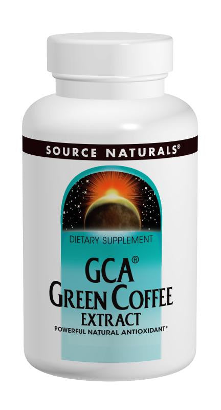 Buy Source Naturals, GCA® Green Coffee Extract, 30 tablet at Herbal Bless Supplement Store