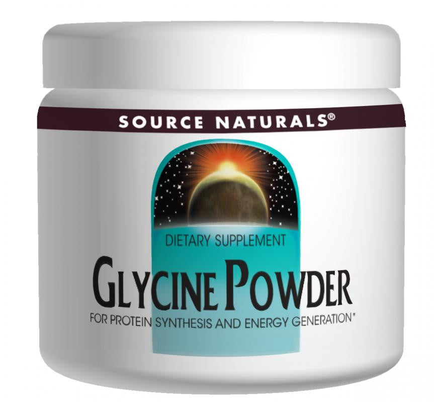Buy Source Naturals, Glycine Powder , 8 oz at Herbal Bless Supplement Store
