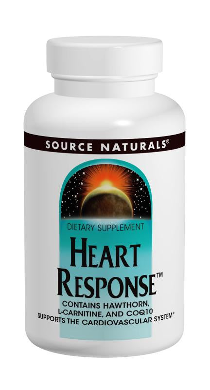 Buy Source Naturals, Heart Response™, 30 tablet at Herbal Bless Supplement Store
