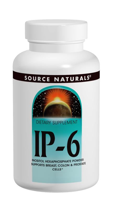 Buy Source Naturals, IP-6 Inositol Hexaphosphate Powder, 100 gm at Herbal Bless Supplement Store