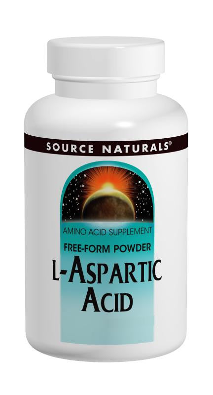 Buy Source Naturals, L-Aspartic Acid Powder, 100 gm at Herbal Bless Supplement Store