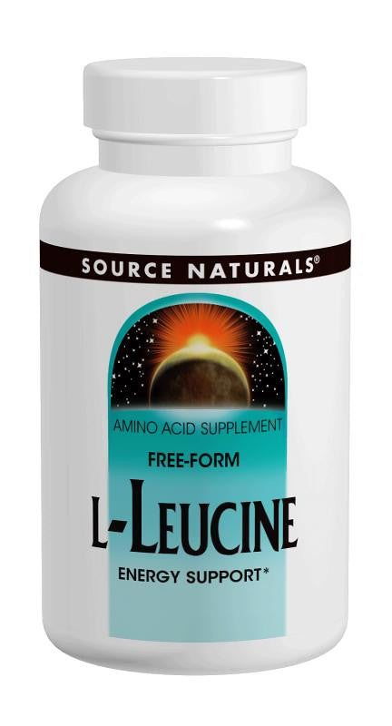 Buy Source Naturals, L-Leucine 500mg, 60 capsule at Herbal Bless Supplement Store