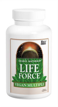 Buy Source Naturals, Life Force® Vegan Multiple, 60 Tablets at Herbal Bless Supplement Store